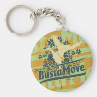 Busta Move T-shirts and Gifts Keychains