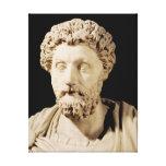 Buste de Marcus Aurelius Toile Tendue Sur Châssis