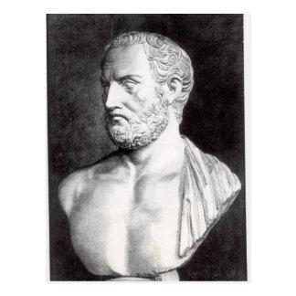 Buste de Thucydides, gravé par Barbant Carte Postale