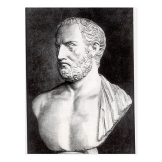 Buste de Thucydides, gravé par Barbant Cartes Postales