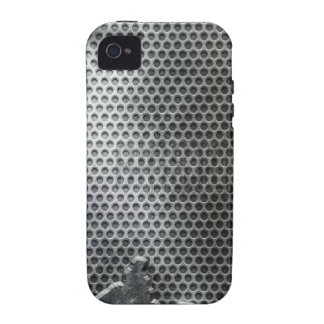 Busted Metal Chrome Speaker - Mean and Manly iPhone 4 Covers