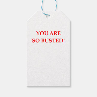 BUSTED PACK OF GIFT TAGS