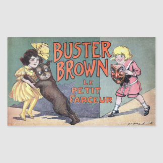 Buster Brown Sticker