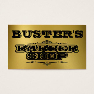 Buster's Gold Business Card