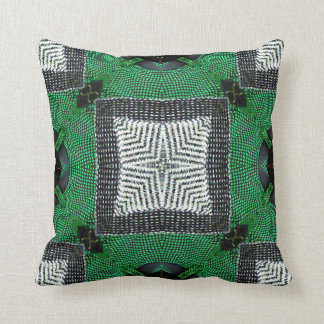 Bustery Backhand Throw Pillow