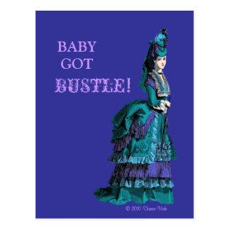 Bustle Postcard