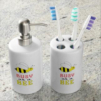 Busy as a Bee Bathroom Set