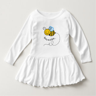 Busy as a  bee dress