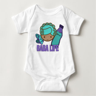 "Busy Baby Baba infant creeper ""Baba Life"""