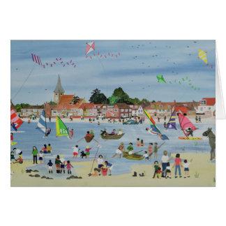Busy Beach Card