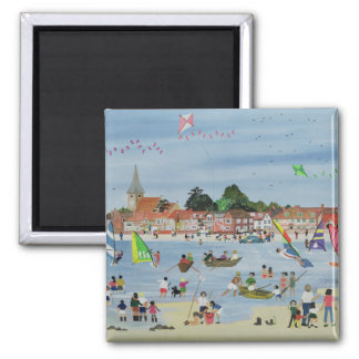 Busy Beach Magnet
