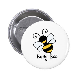 Busy bee2 2 inch round button