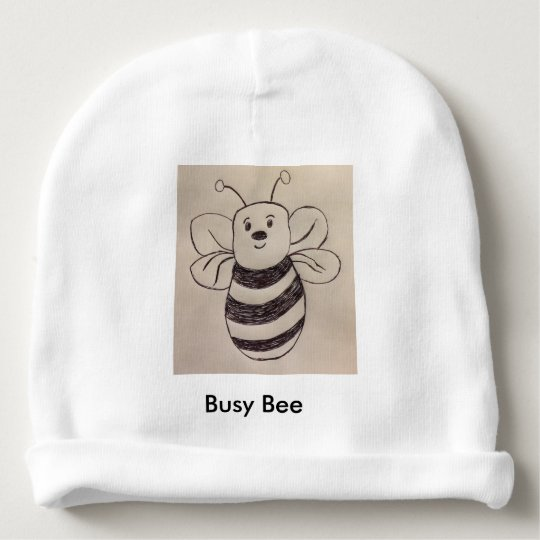 Busy Bee Baby Hat Baby Beanie