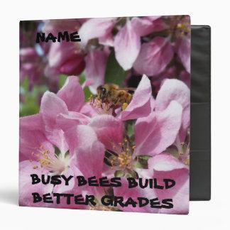 Busy Bee Building Bigger Grades Vinyl Binders
