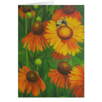 """Busy Bee"" Card"