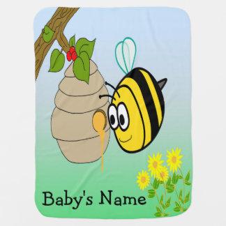 Busy Bee Cute Baby Blanket