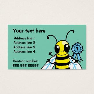 Busy Bee hard work Business Card