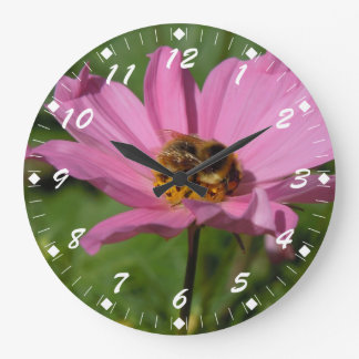 Busy Bee on Cosmo Large Clock