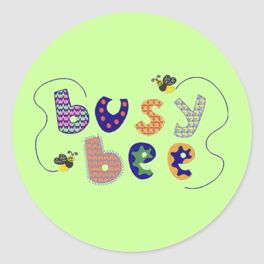 Busy Bee Sticker