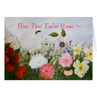 Busy Bee/Welcome Home Card
