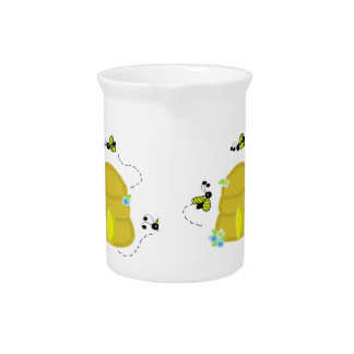 Busy Bees Beehive Pitcher