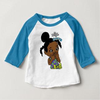 Busy Bri Baby Raglan T-shirt