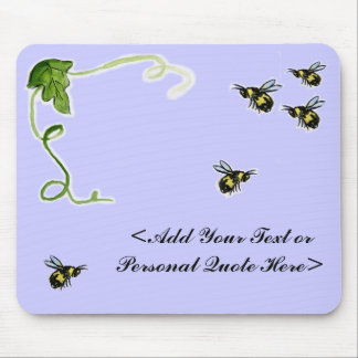 Busy Bumble Bee Mousepad