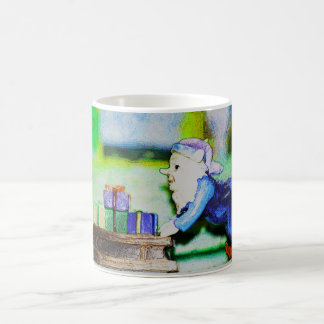 Busy Elf by Shirley Taylor Coffee Mug