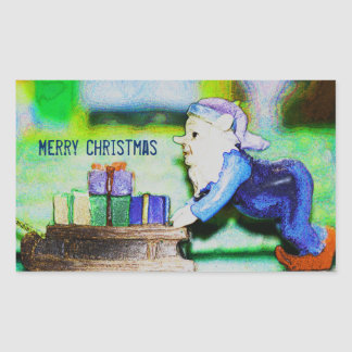 Busy Elf by Shirley Taylor Sticker