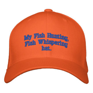 Busy Fishing Embroidered Hat