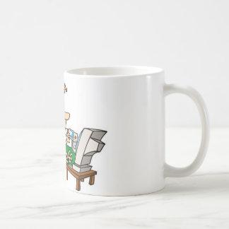 Busy woman coffee mug