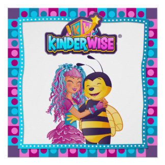 Busybee, Sparkelina from Kinderwise best friends, Perfect Poster