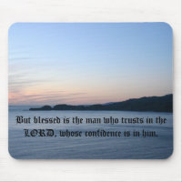 But blessed is the man who trusts in ...