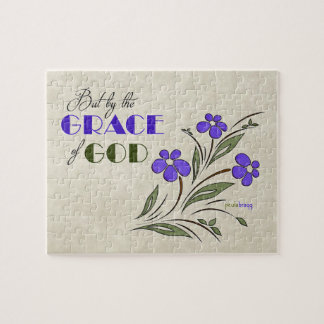 But by the Grace of God (Recovery Quote) Puzzle