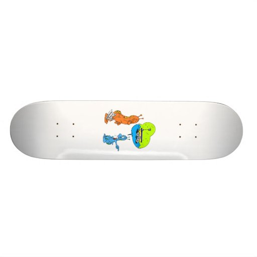 But Dad There was a Rover I Swear! Custom Skate Board