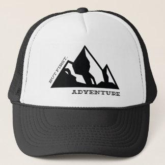 But first, adventure trucker hat
