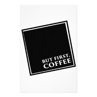 But First, Coffee Stationery