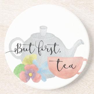 But first, Tea Coaster
