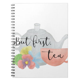 But first, Tea Notebooks