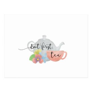 But first, Tea Postcard