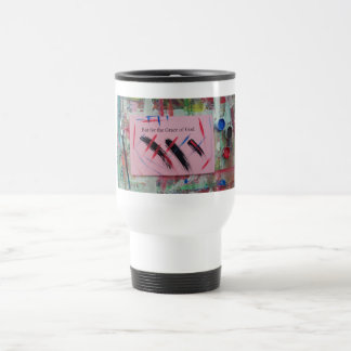 but for the grace of God 15 Oz Stainless Steel Travel Mug