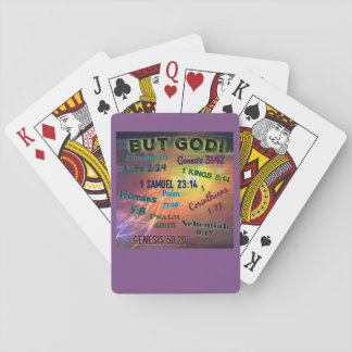 BUT GOD! PLAYING CARDS