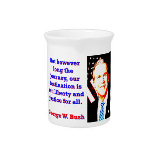 But However Long The Journey - G W Bush Pitcher