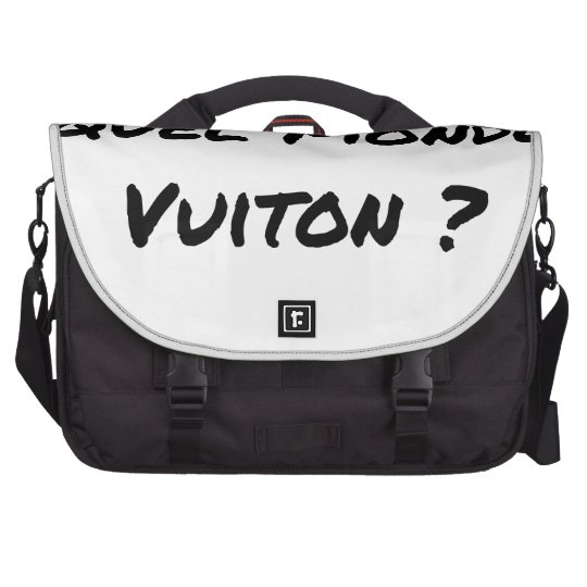 BUT IN WHICH WORLD VUITON? - Word games Laptop Computer Bag