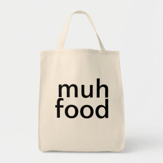But who will feed the people? bag