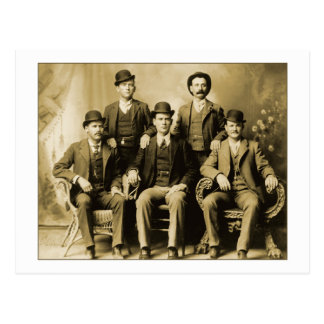 Butch Cassidy and the Wild Bunch Postcard