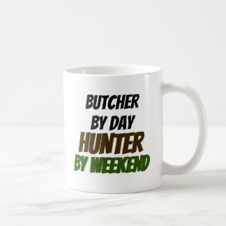 Butcher by Day Hunter by Weekend Coffee Mug