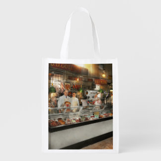 Butcher - DD Collins Butcher 1915 Grocery Bags