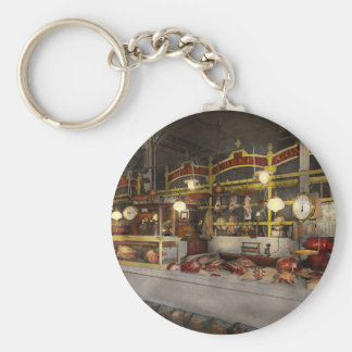 Butcher - Meat Party 1926 Basic Round Button Keychain