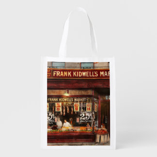 Butcher - Meat priced right 1916 Reusable Grocery Bag